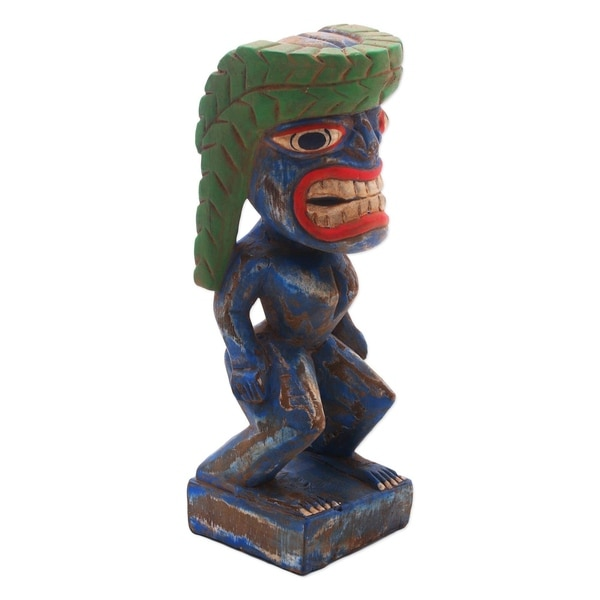 Handmade Papua Spirit Wood Statuette (Indonesia)