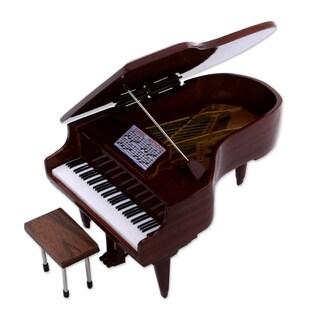 Handmade Grand Piano Wood Miniature Piano (Indonesia)