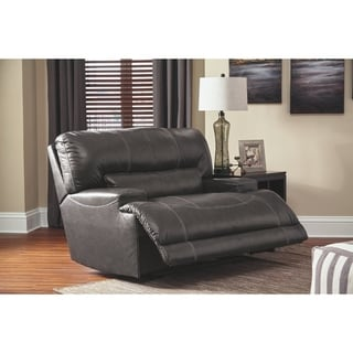McCaskill Contemporary Wide Seat Recliner Gray