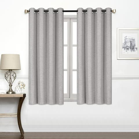 Porch & Den Chalmers Total Black-Out Curtain Panel