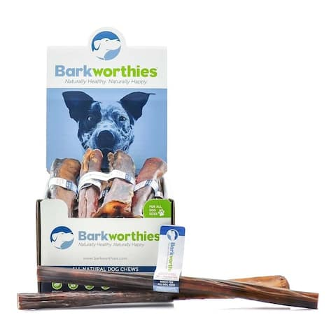 Barkworthies Bully Stick - Odor Free -12'' Monster (Case of 18)