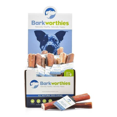 Barkworthies Bully Stick - 06'' Double Cut Sold As Whole Case Of: 50 - 06 inches
