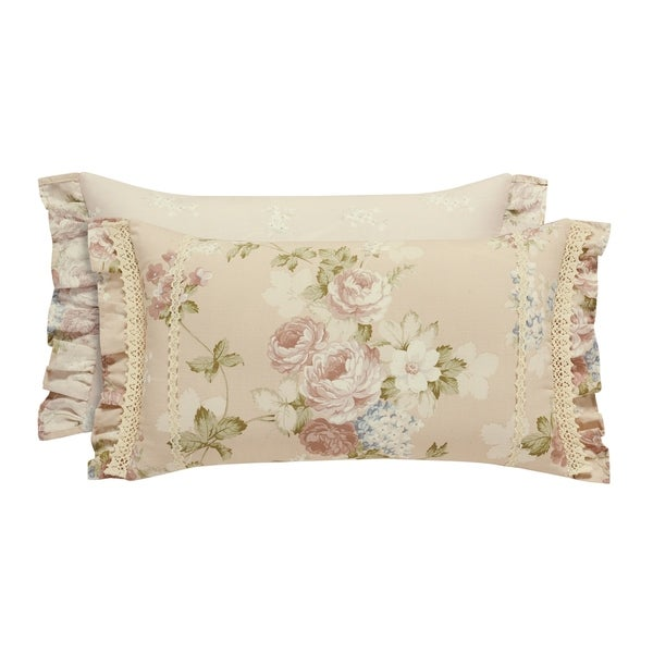 Five Queens Court Andrea Boudoir Decorative Throw Pillow