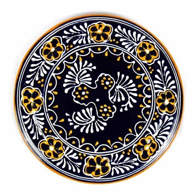 "Pottery 8"" Trivet, Blue"