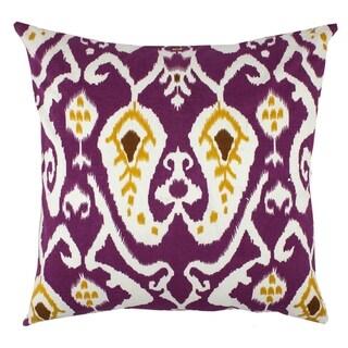 Divine Home Ikat Throw Pillow