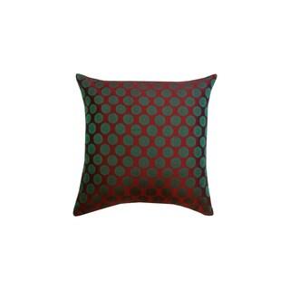 Divine Home Brocade Throw Pillow