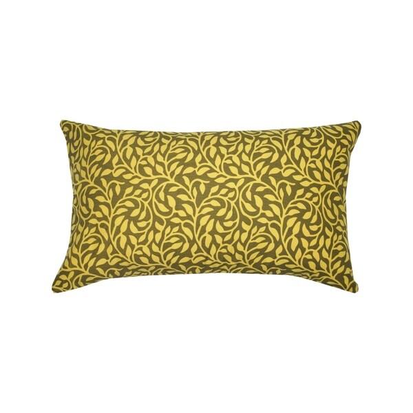 Divine Home Vines Lumbar Throw Pillow