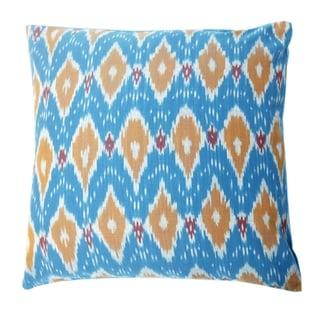 Divine Home Fiona Ikat Throw Pillow