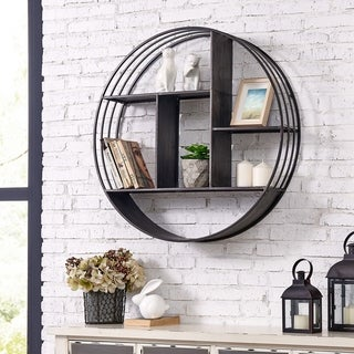 "FirsTime & Co.® Brody Industrial Circular Shelf - 28"" x 6"""