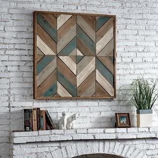 FirsTime & Co.® Geometric Lath Plaque