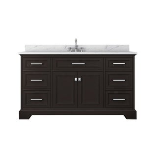 Furnishmore Pittsburgh Marble Top Single Bathroom Vanity