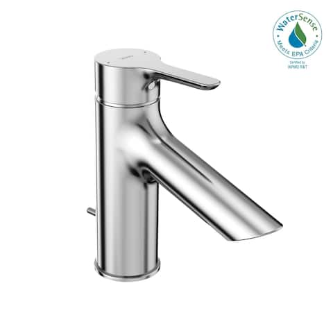 TOTO® LB 1.2 GPM Single Handle Bathroom Sink Faucet with COMFORT GLIDE Technology, Polished Chrome (TLS01301U#CP)