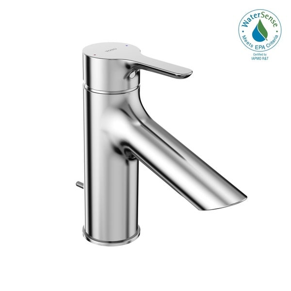 TOTO® LB 1.2 GPM Single Handle Bathroom Sink Faucet with COMFORT GLIDE Technology, Polished Chrome (TLS01301U#CP). Opens flyout.