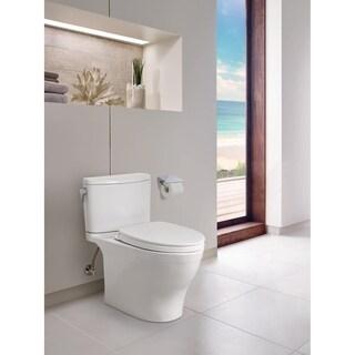 TOTO Nexus 2-Piece Elongated 1.28 GPFToilet w/  SS124 SoftClose Seat, Cotton White (MS442124CEFG#01)