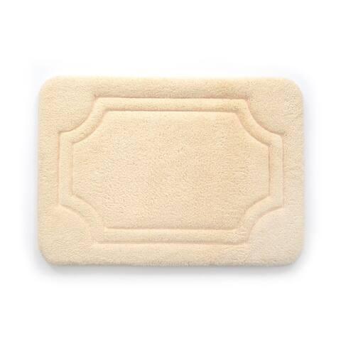 Porch & Den Dereck Biscotti Beige Water Shielded Memory Foam Bath Rug - 1'9' x 2'10'