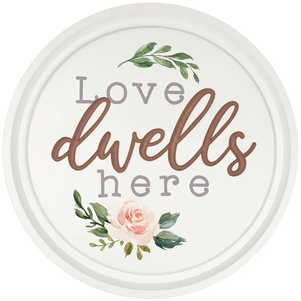 Love Dwells Here Oversized Décor