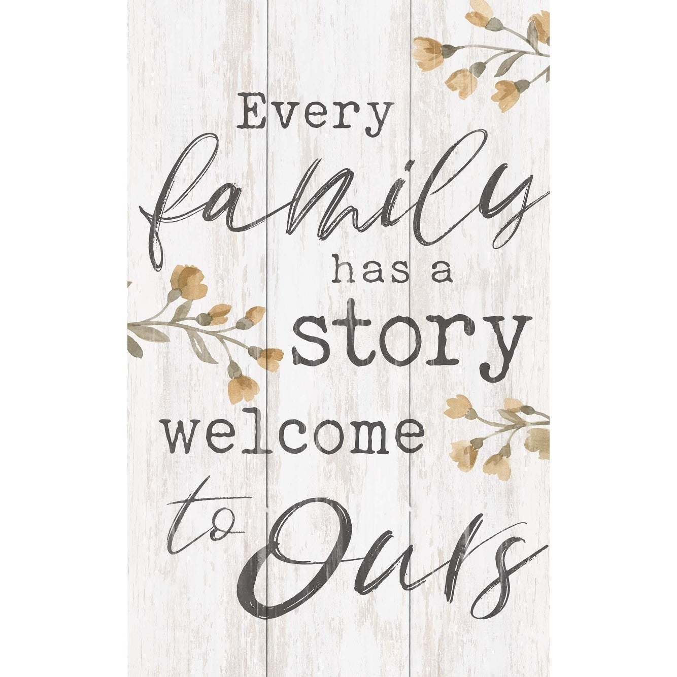 Every Family Has A Story Welcome