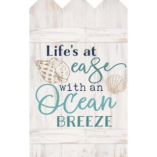Life's At Ease With An Ocean Breeze Pallet Décor