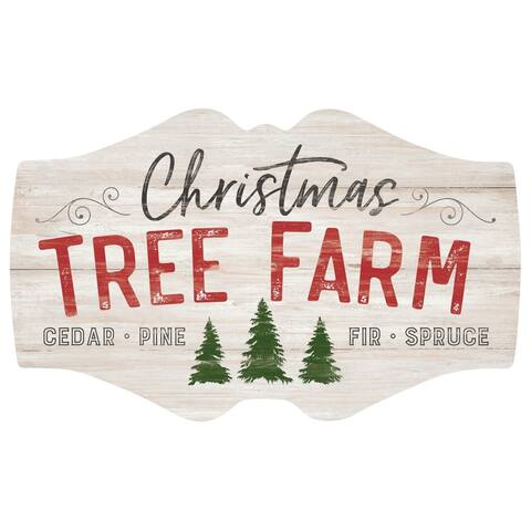 Tree Farm Over sized Decor