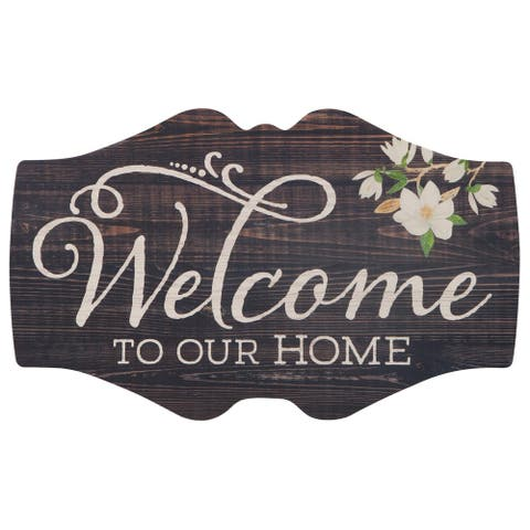 Welcome To Our Home Oversized Décor