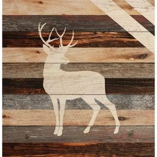 Deer Pallet Décor
