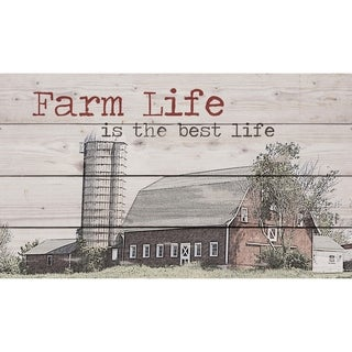 Farm Life Is The Best Life Pallet Décor