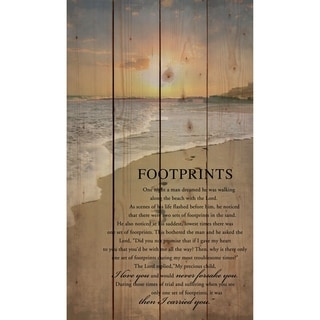 Footprints Pallet Décor