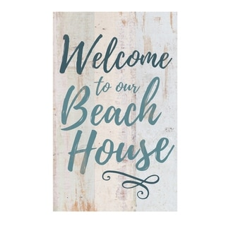 Welcome To Our Beach House Pallet Décor
