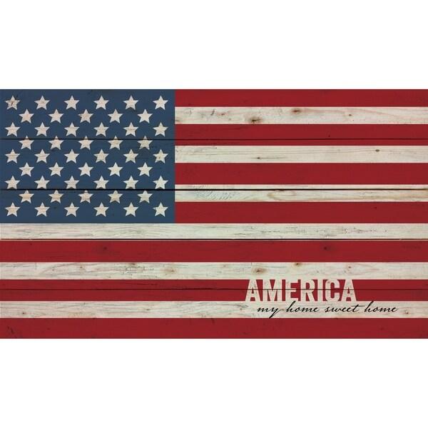 America Pallet Décor
