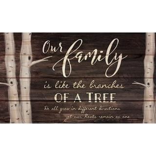 Our Family Pallet Decor