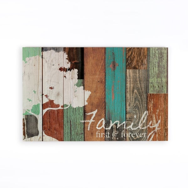 Family First & Forever Pallet Decor