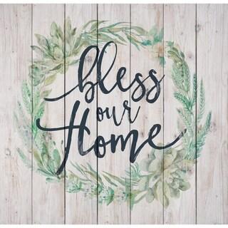 Bless Our Home Pallet Décor