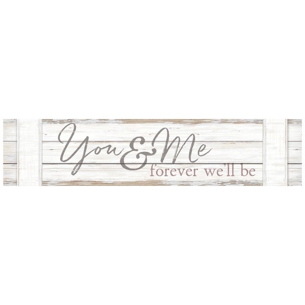 You & Me Forever We'll Be Pallet Décor