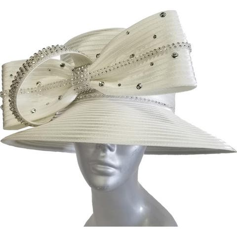 e0dfcec1cd0 Buy Off-White, Wide Brim Women's Hats Online at Overstock | Our Best ...