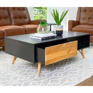 Abbyson Murray Mid Century Wood Coffee Table