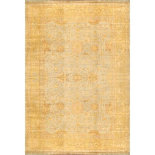 Pasargad Home Oushak Collection Lambs Wool Area Rug - 6' x 9'