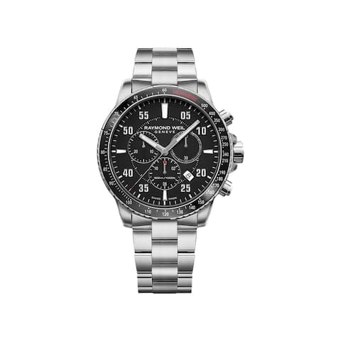 Raymond Weil Men's 8570-ST1-05207 'Tango' Chronograph Stainless Steel Watch