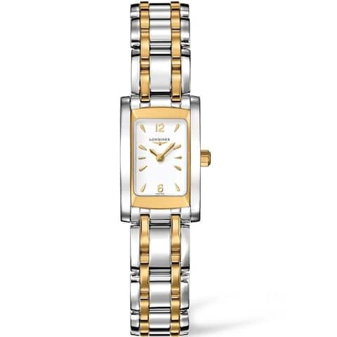 Longines Women's L5.158.5.28.7 'DolceVita' Two-Tone Stainless Steel Watch