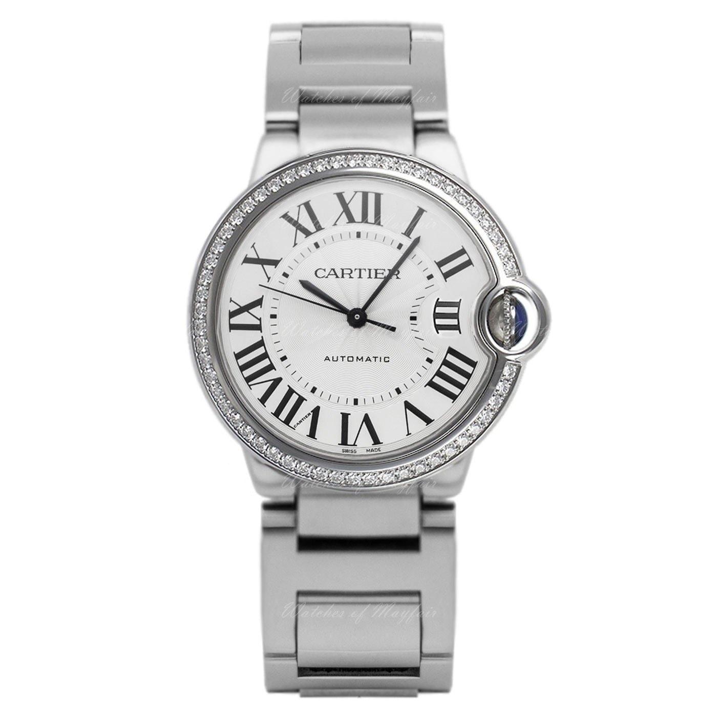Cartier Womens W4BB0017 Ballon Bleu Stainless Steel Watch