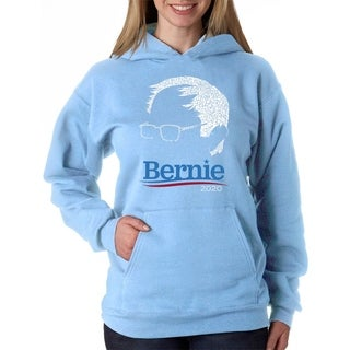 Women's Word Art Hooded Sweatshirt -BERNIE - LA Pop Art