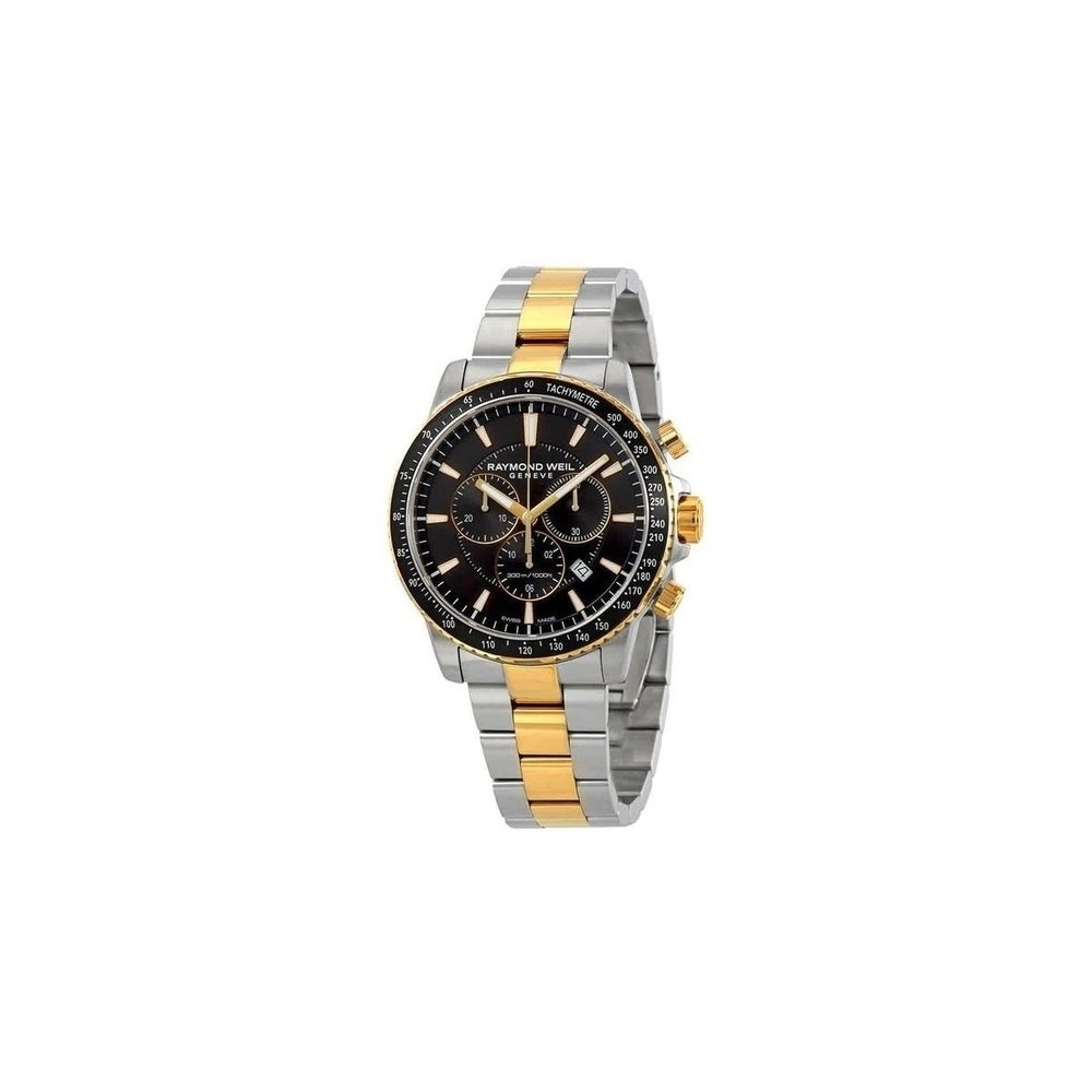 Raymond Weil Men's 8570-SP1-20001 'Tango' Chronograph Two-Tone Stainless Steel Watch