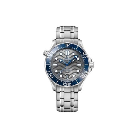Omega Men's 210.30.42.20.06.001 'Seamaster' Stainless Steel Watch