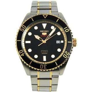 Link to Seiko Men's SRPB94J1 'Sports' Two-Tone Stainless Steel Watch Similar Items in Men's Watches