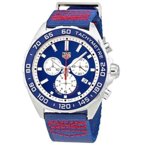 Tag Heuer Men's CAZ1018.FC8213 'Formula 1' Chronograph Two-Tone Nylon Watch