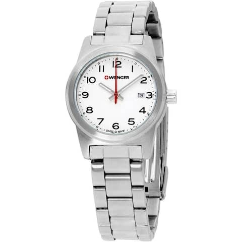 Wenger Women's 01.0411.134 'Field Color' Stainless Steel Watch