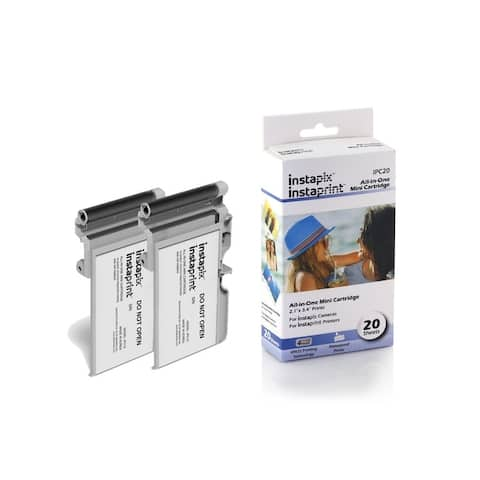 Instaprint Cartridge 2 Pack for Minolta Instapix Cameras with 20 Total Prints