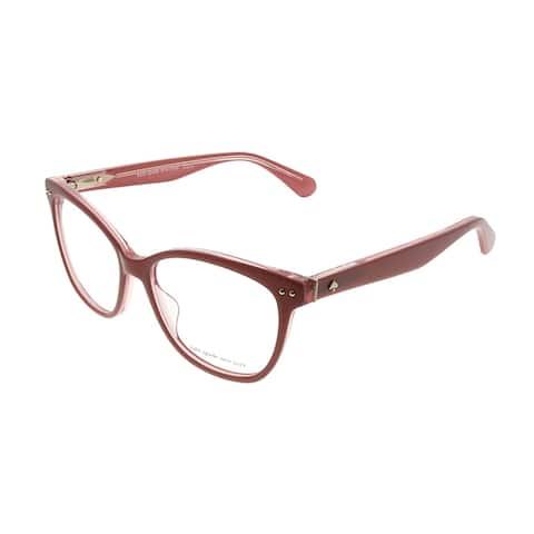 Kate Spade KS Adrie 35J 53mm Womens Pink Frame Eyeglasses 53mm