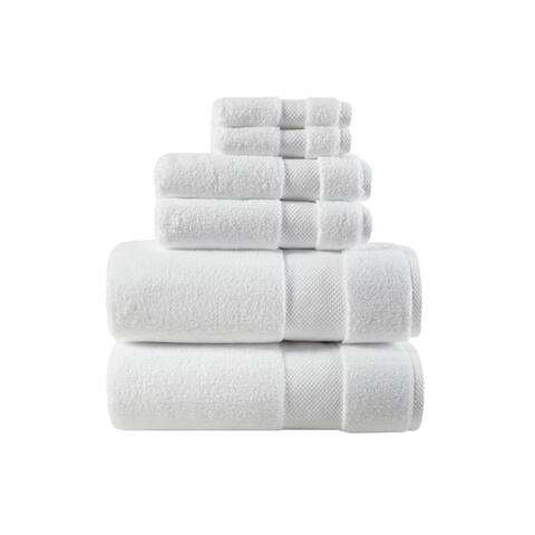 Madison Park Signature Splendor 1000gsm 100-percent Cotton 6 Piece Towel Set