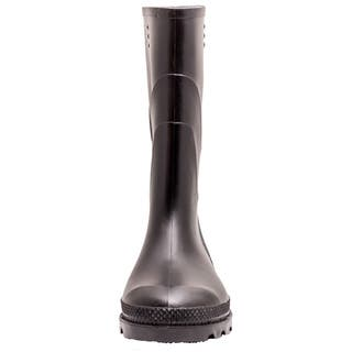 Solid PVC Children Kids Wellington Rain Boots Size 3