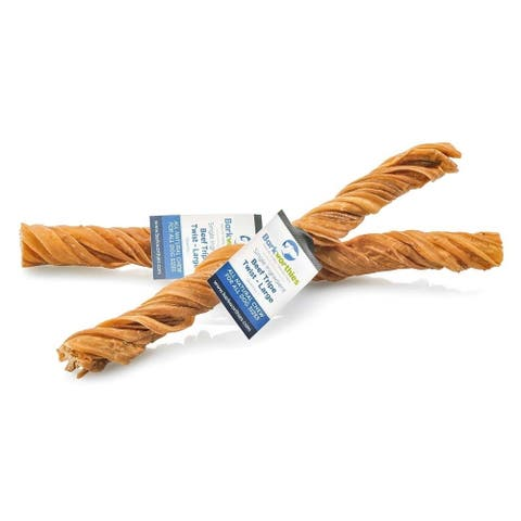 Barkworthies Tripe Twist - Large - Case of 35